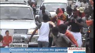 Omuyimbi Iryn Namubiru atuuse mu ggwanga