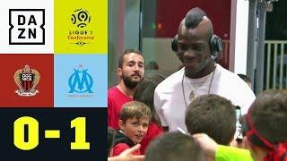 Mario Balotelli mit fiesem Tritt, Dante ohne Glück: OGC Nizza - Marseille 0:1 | Ligue 1 | DAZN