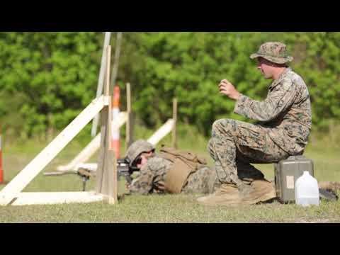 DFN:U.S. Marines participate in designated marksman course, STONE BAY, NC, UNITED STATES, 05.02.2018