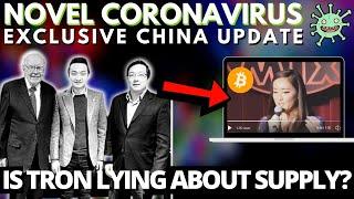 Bitcoin Critic Warren Buffett Meets Justin Sun   Tron Supply Issue? Coronavirus And China!