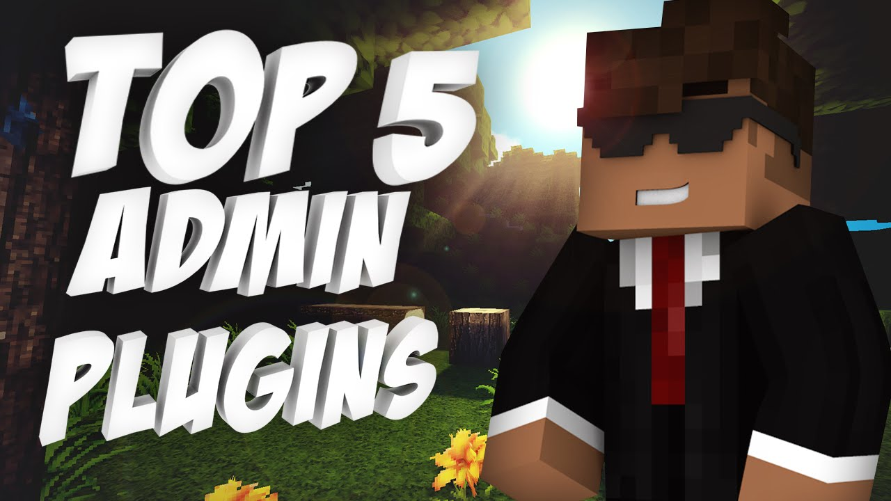 Top 5 Admin Plugins Minecraft YouTube