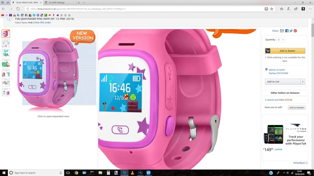 Kids smartwatch setup - device offline fix