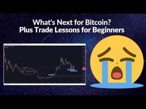 What's Next For Bitcoin - Plus Trading Lessons For Beginners