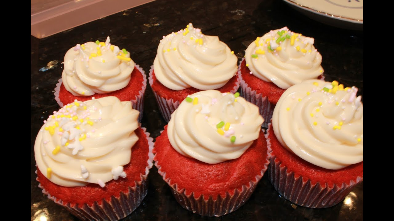quick easy red velvet cupcakes