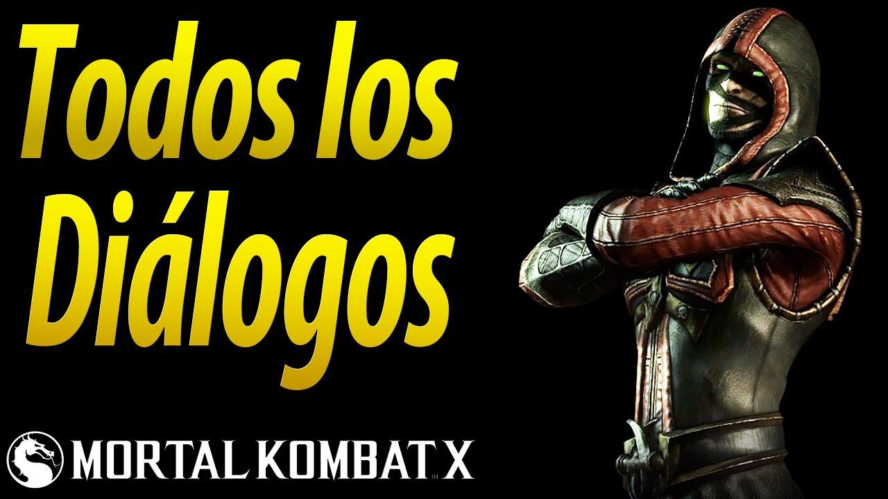 Mortal Kombat X | Español Latino | Todos los Diálogos | Ermac | Xbox One |