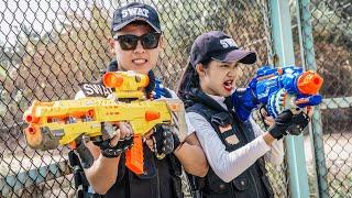 LTT Game Nerf War : Couple Warriors SEAL X Nerf Guns Fight Criminal Group Inhuman Battle Not Over