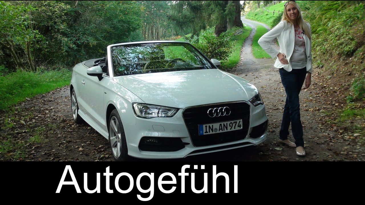 2015 Audi A3 Cabriolet Test Drive Review Does Tdi Work