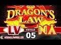 Las Vegas vs Native American Casinos Episode 5: Dragon's Law Slot Machine Bonus BIG WIN