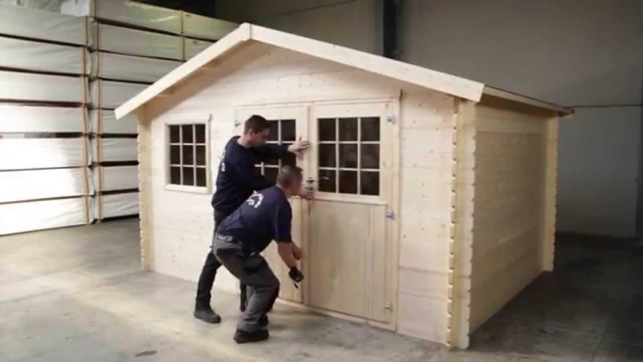 C mo montar caseta de madera para jard n youtube - Casetas para el jardin ...