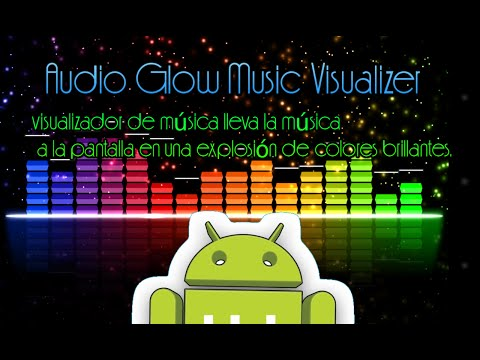 Audio Glow Music Visualizer-Fantastico visualizador de música