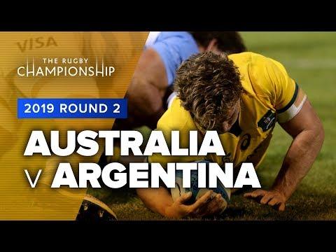 Australia V Argentina | 2019 TRC Rd 2 Highlights