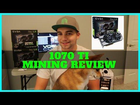 Nvidia 1070 TI The Best Mining GPU? Ever?! 4.7 Sols Per Watt