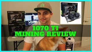 Nvidia 1070 TI the Best Mining GPU? Ever?! 4.7 Sols per watt
