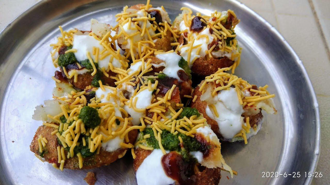 Dahi Puri /how to make dahi Puri at home/chaat recipe /sweet and green chutney/sujis recipes