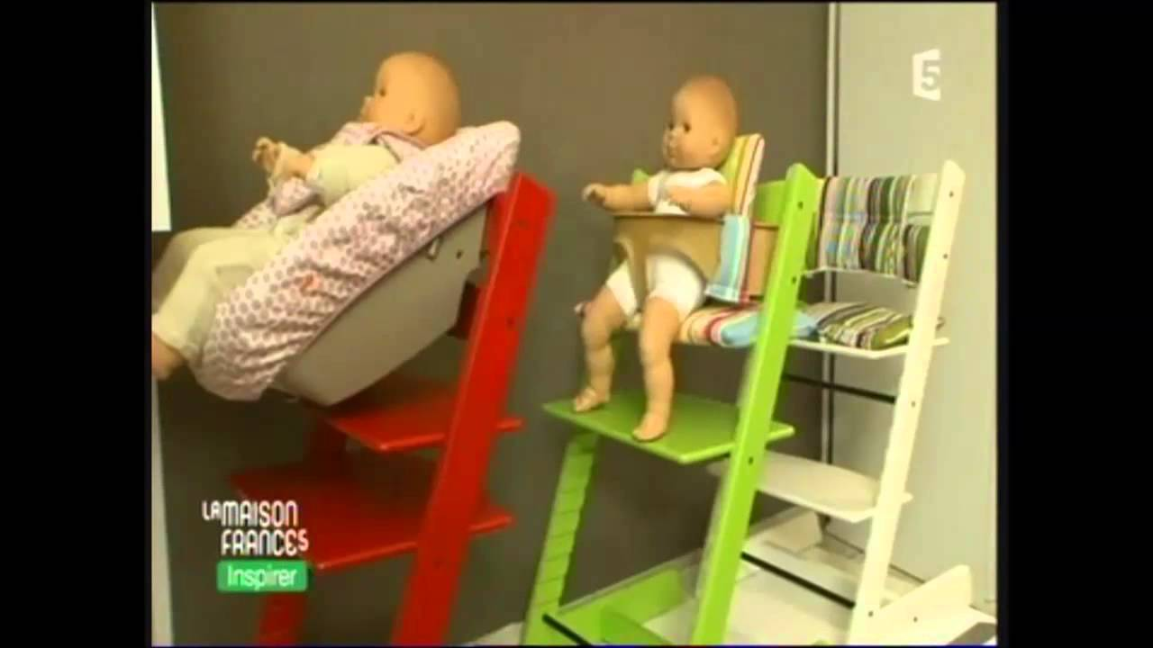 stokke chaise haute tripp trapp youtube. Black Bedroom Furniture Sets. Home Design Ideas