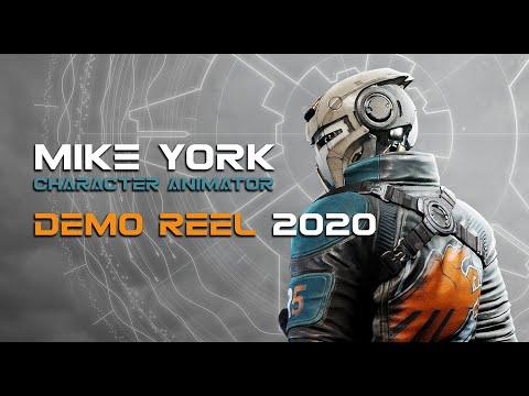 Animation Demo Reel - Mike York