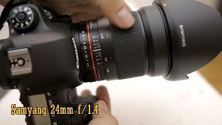 Samyang 24mm f/1.4 lens review with samples (Full-frame and APS-C)