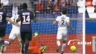 اهداف مباراة باريس سان جيرمان و كان 6 0 الدورى الفرنسي 15-04-2016