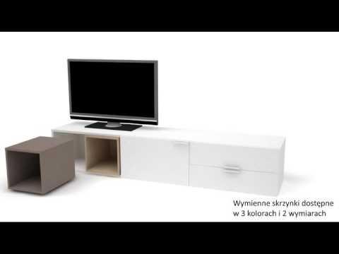 Meuble Tv Blanc Design 4 You Vox Meubles House And Garden Youtube
