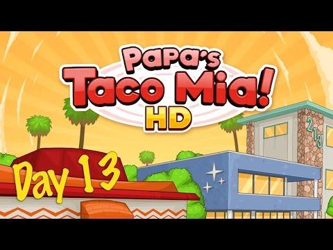 Papa's Taco Mia! HD Day 13- iOS Gameplay papa's taco mia hd
