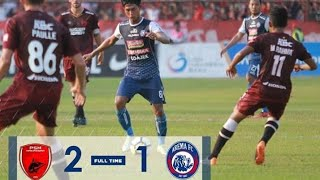 Tanpa Aremania Arema FC Tumbang Dari PSM Makassar ( 2 - 1 )