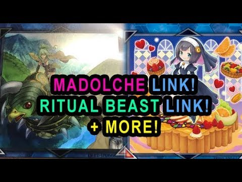 NEW MADOLCHE LINK! NEW RITUAL BEAST LINK! NEW KNOBLE KNIGHT LINK! ZEFRA LINK! INVOKED LINK!