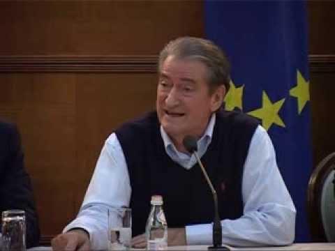 TIRANA WESTERN BALKAN YOUTH FORUM -PM Sali Berisha -JEF Balkans - Jef Norway - JEF Albania