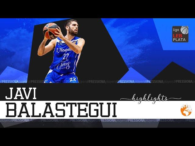 Javier Balastegui Highlights 2019-20 LEB Plata