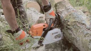 Introducing the STIHL MSA 160 T Top Handle Chainsaw | STIHL GB