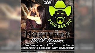 Mega Mix Norteñas Con Sax Marzo 2017 ► Especial Dj's Puro Sax VIP