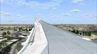 EgyptAir A330-300 Landing At Cairo Fsx Thumbnail