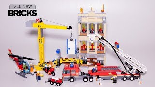 Lego City 60216 Downtown Fire Brigade Speed Build
