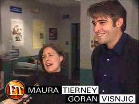Maura Tierney & Goran Visnjic interview