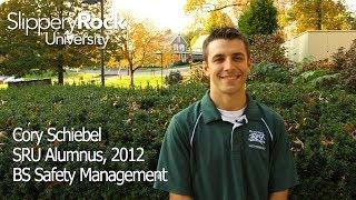 SRU Success Stories - Cory Schiebel, Alumnus 2012