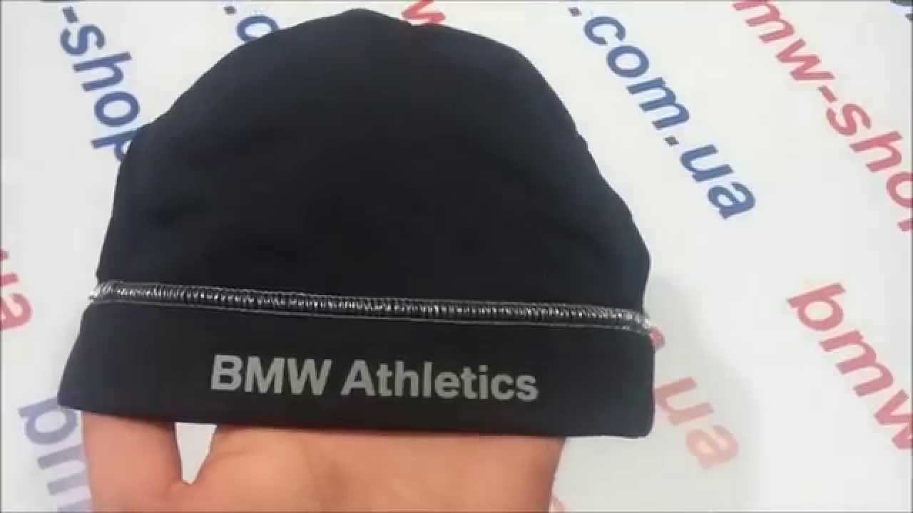 06e1d9041978d Шапка унисекс BMW Athletics Sports Beanie (80162361129) - YouTube