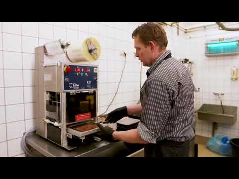 Tray Sealer Application in Europe