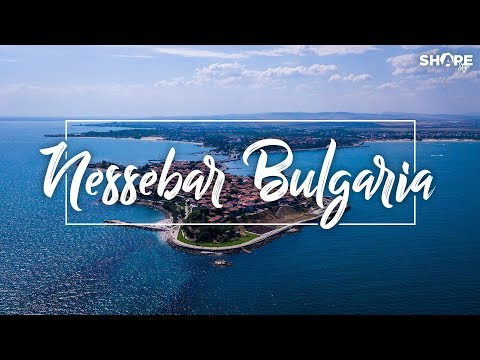 Travel in Bulgaria - Nessebar From Above | The Old Town and The Sea - Drone Footage