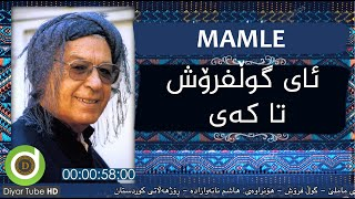 Muhammed Mamle - Gul Frosh - Original Audio with Lyrics - 4K | محەممەدی ماملێ - گوڵ فرۆش ژێرنووس