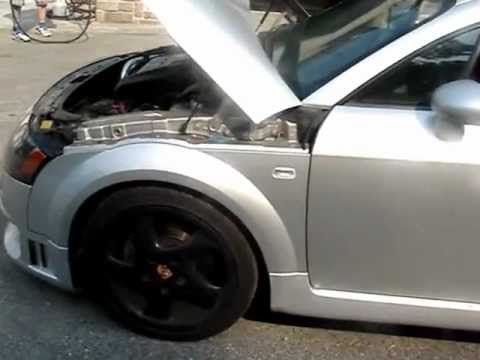 First in the U S !! Audi TT TDI swap
