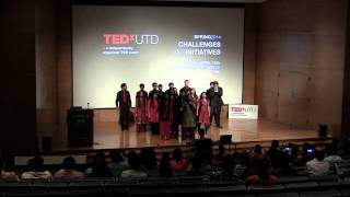 Mashing up the east and west through a capella: Dhunki at TEDxUTD