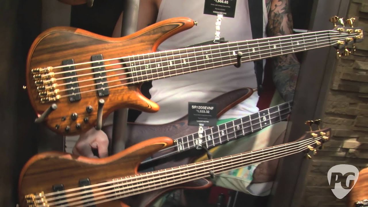 namm 39 12 ibanez 25th anniversary sr basses sr premium 6 string bass btb series basses youtube. Black Bedroom Furniture Sets. Home Design Ideas