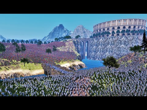 Battle Of Roman Empire VS Persian Empire - Ultimate Epic Battle Simulator UEBS