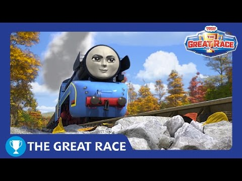 The Great Race: Frieda Of Germany   The Great Railway Show   Thomas & Friends UK