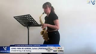 Carlota Gomes Faria de Almeida – Etude Ferling 4