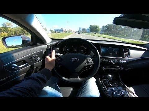2018 Kia Quoris V8 5.0L POV Test Drive