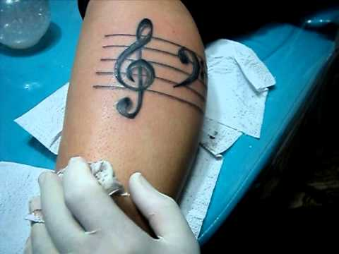 Tattoo Clave De Sol Diovany Tattoo 217832 8227 Id 8366511 Youtube