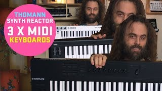 Recommending 3 MIDI keyboards