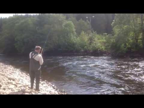 Salmon Fishing On The Lower Tummel