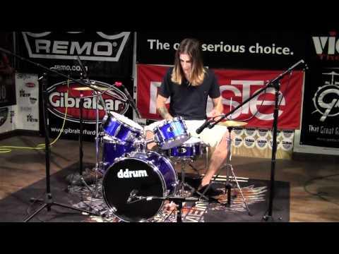 Greenbrier Percussion - ddrum Jr. Drum set Demo