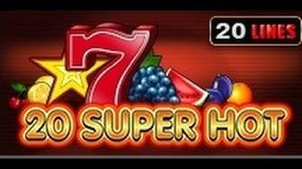 20 Super Hot - Slot Machine - 20 Lines